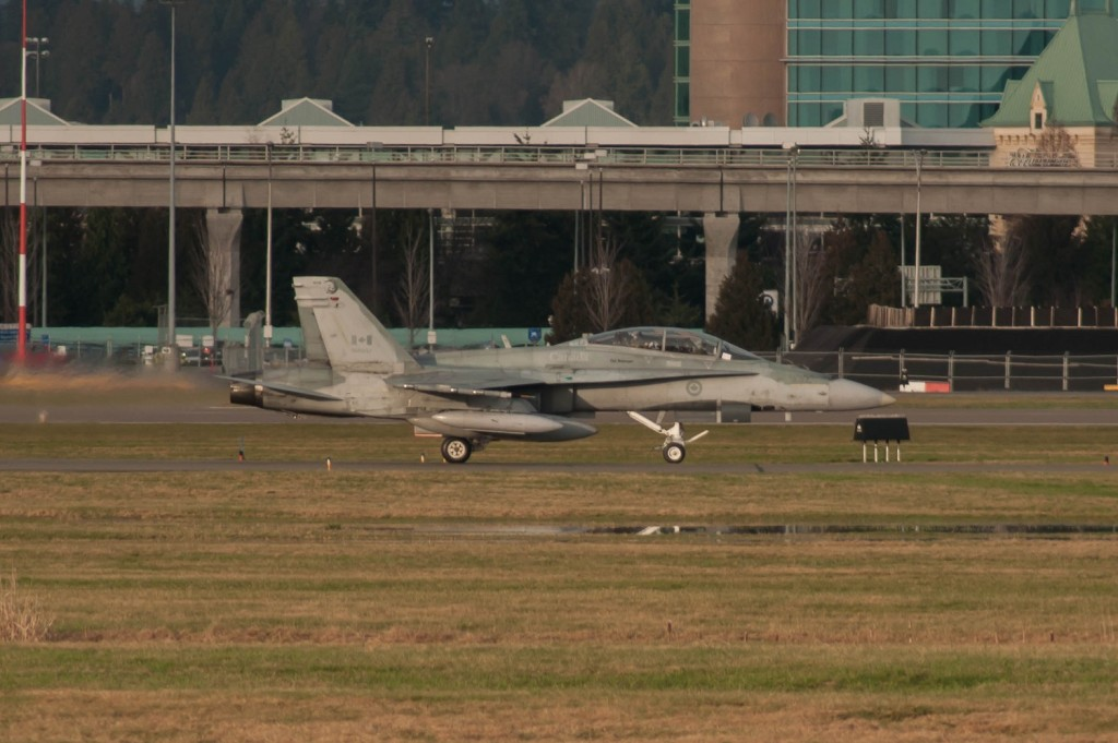 RCAF CF-18 fighter jet military Canadian Air Force