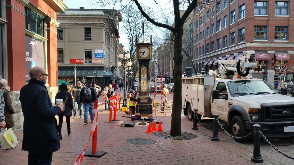 gastown steam clock january 2014 4