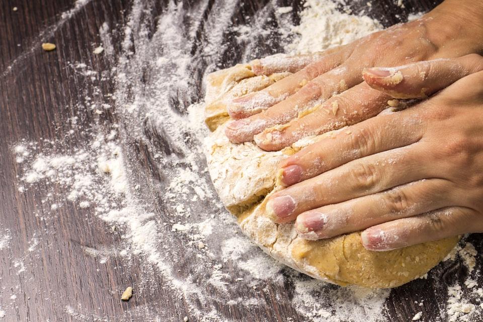 Kneading Dough / Shutterstock