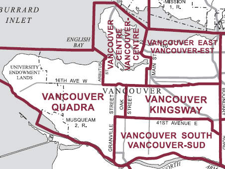 old vancouver federal ridings