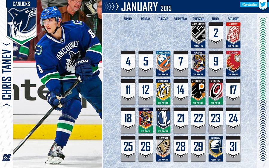 Vancity Buzz Canucks January Wallpaper