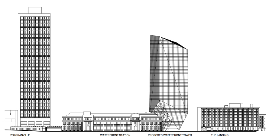 waterfront tower 555 west cordova - 22