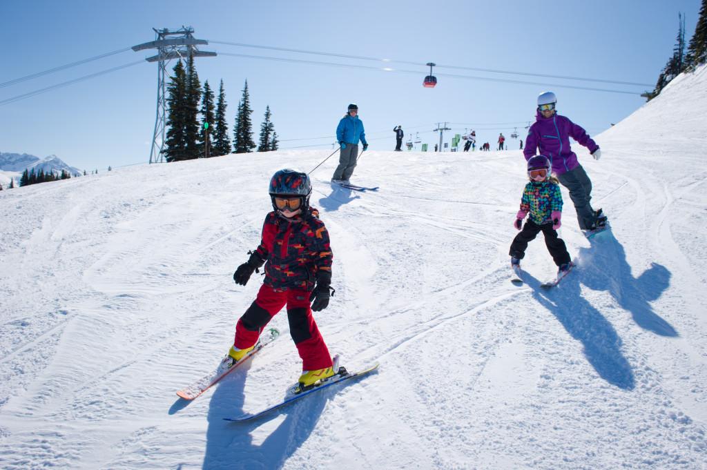 Family fun on Whistler Mountain
