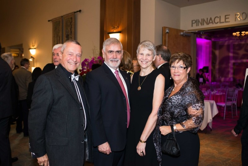 Honourable Peter Fassbender, Michael and Donna Hillman and Charlene Fassbender joined the over 300 guests for the inaugural Gift of Love Gala.