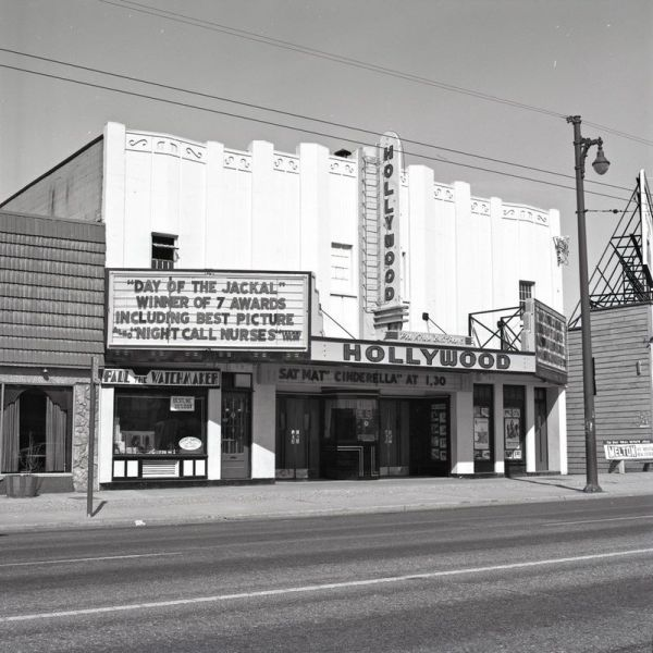 The Hollywood Theatre, photo courtesy of Angus Macintyre and Sarah Kift.