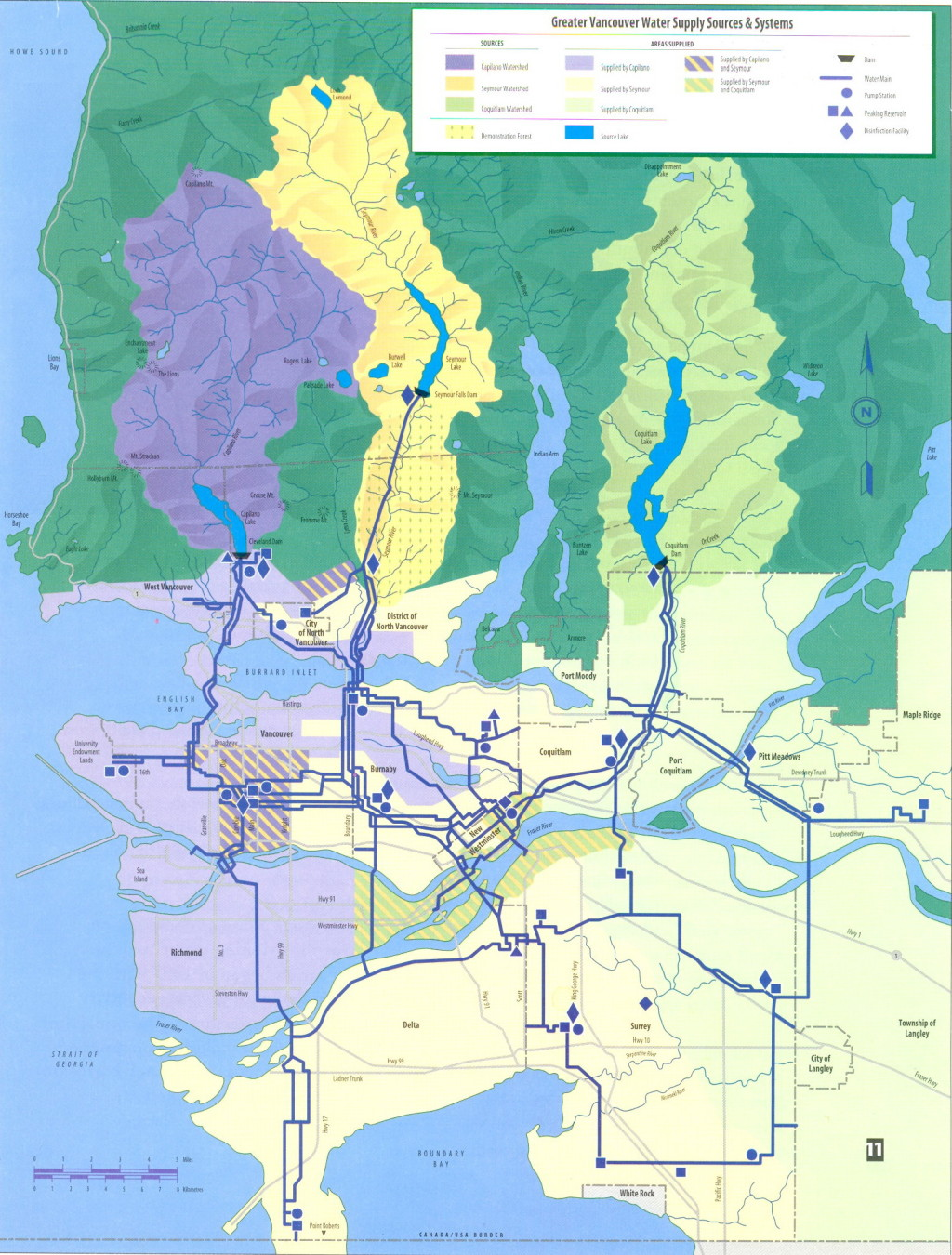 Metro Vancouver Water System