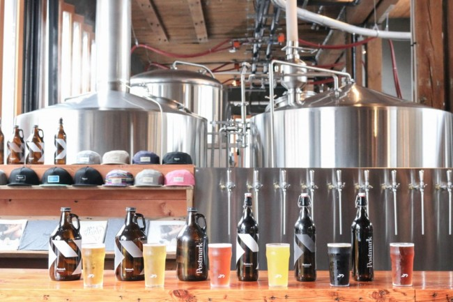 Image courtesy of Postmark Brewing