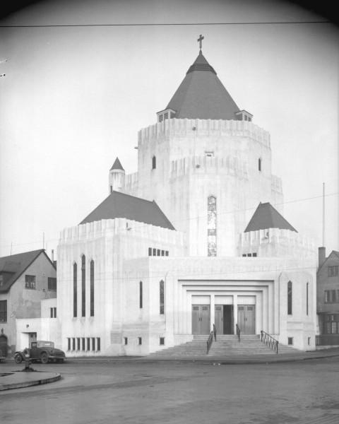 St. James Church, Nov. 24, 1936, via Vancouver Archives.