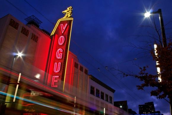Vogue Theatre, via Musuem of Vancouver's Visible City.