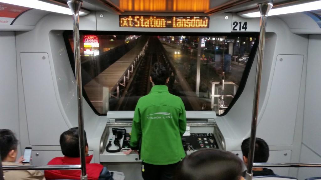 canada line attendant driver
