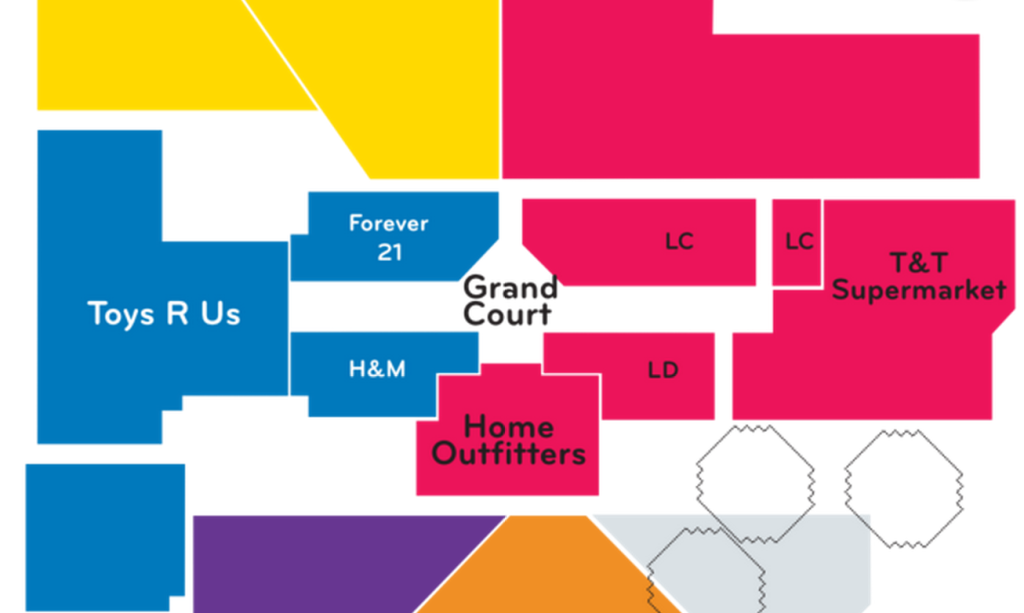 home outfiitters metrotown map