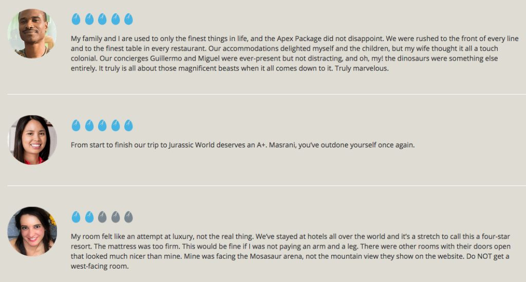 jurassic world reviews