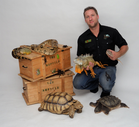 Mike the Reptile Guy (Pet Lover Show).
