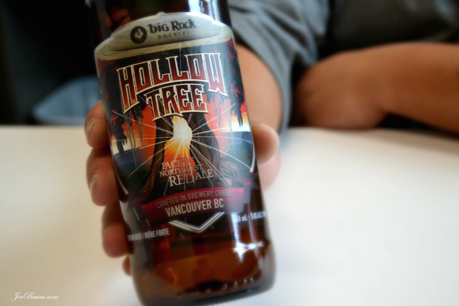 Hollow Tree Pacific Northwest Red Ale by Big Rock Brewery