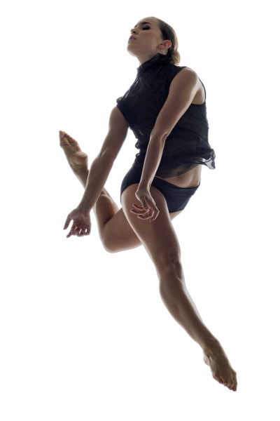 Ballet BC Dancer Kirsten Wicklund; photo by Michael Slobodian colour