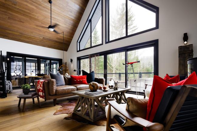 After: Living Room/ photo credit: Brandon Barre