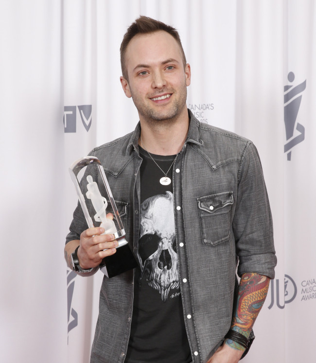 Country Album of the Year winner Dallas Smith