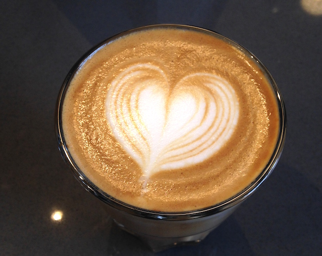 Flat White at Prado Gastown (Lindsay William-Ross/Vancity Buzz)