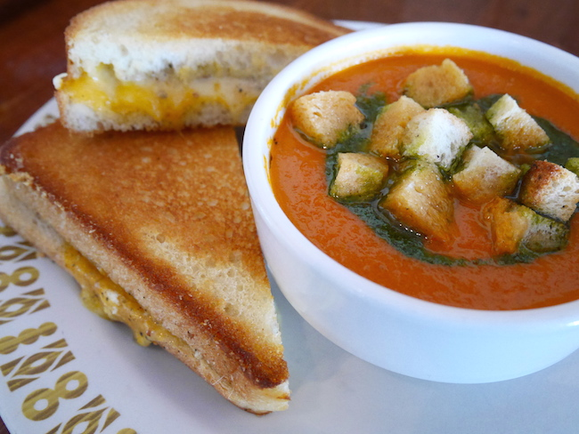 Grilled Cheese and Tomato Soup at Red Wagon (Photo by Katharine Manson/Red Wagon)