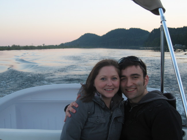 Sarah and Maciej when they first started dating/Photo credit: Sarah and Maciej