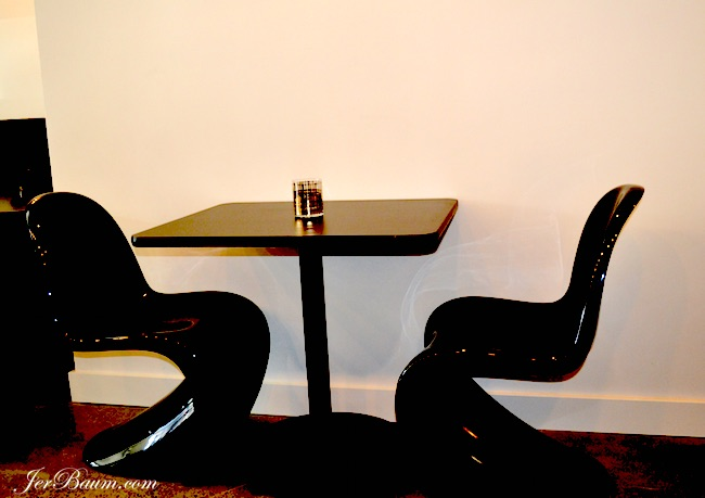 Seating at AnnaLena (photo by Jer Baum / Vancity Buzz)