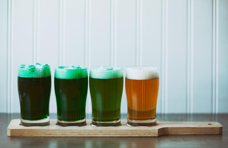 Image: Green beer via Shutterstock