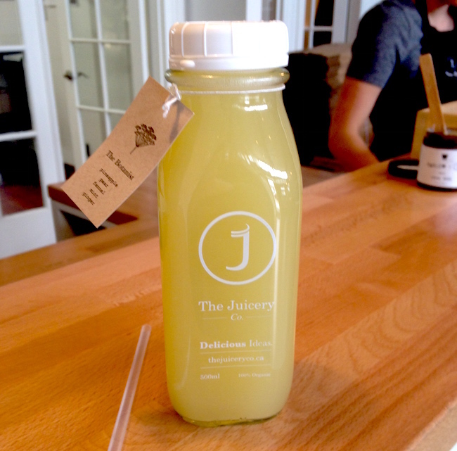 The Botanist by The Juicery Co. (Lindsay William-Ross/Vancity Buzz)