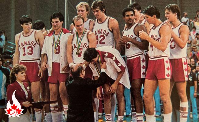 1983 Men's Silver medalist National FISU Team - photo: NBTAA.com