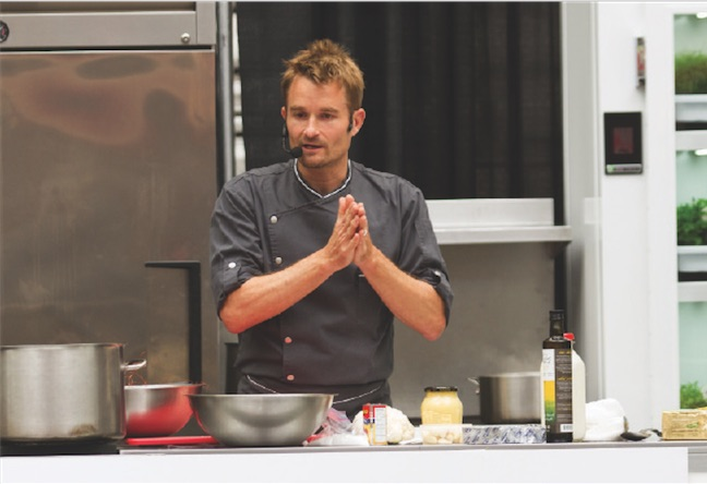 Ned Bell  at EAT! Vancouver 2014 (Photo courtesy EAT! Vancouver)