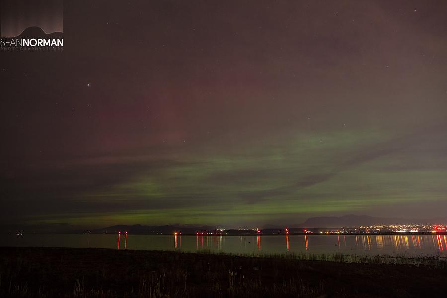 richmond northern lights aurora borealis