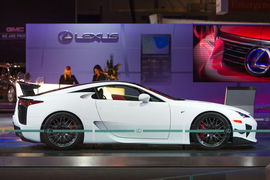 Image: Lexus LFA via Shutterstock