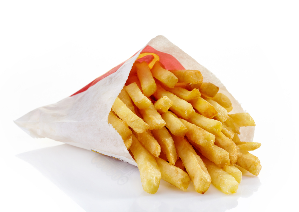 McDonald's small fries / shutterstock