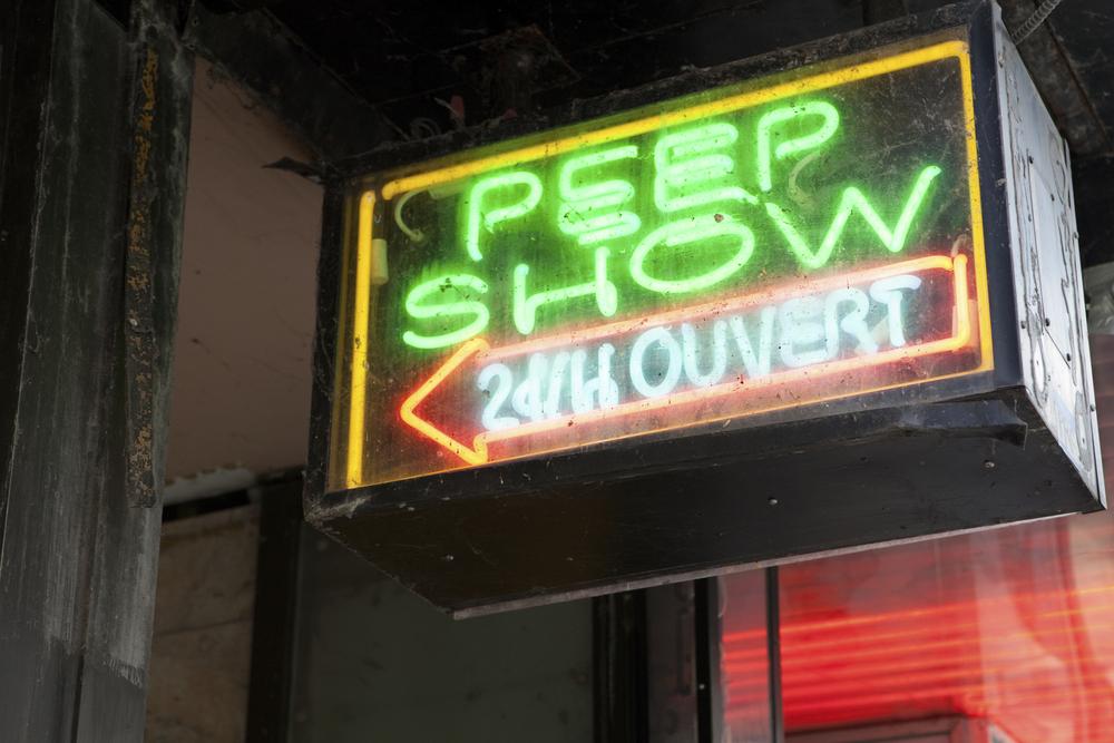 Image: Peep show via Shutterstock