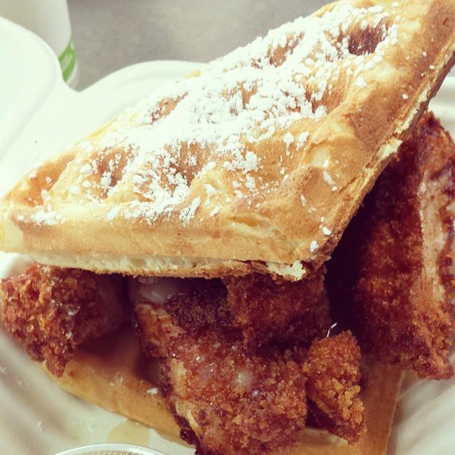 Chicken and Waffles (Photo by Yolk's Breakfast/Facebook)