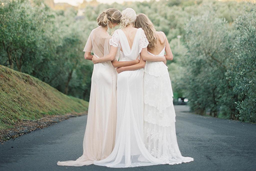whitebridesmaiddresses