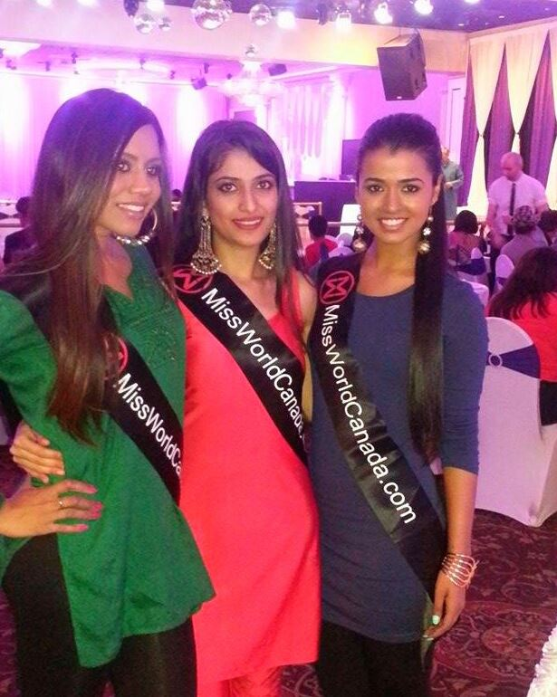 Miss World Canada delegates (image: submitted)