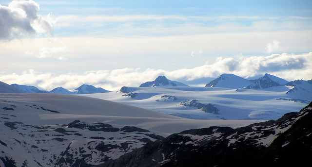 Lillooet Icefield, Image: Dru! / Flickr