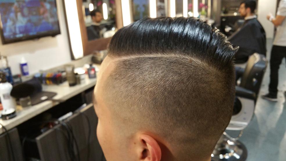 Image; Man Cave Barber Shop