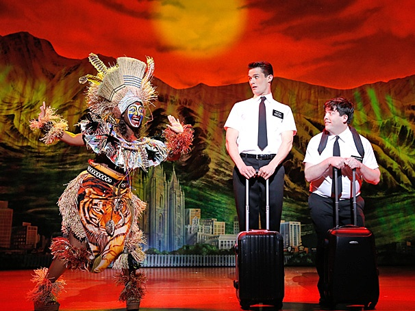 The Book of Mormon. Photo: Broadway.com.