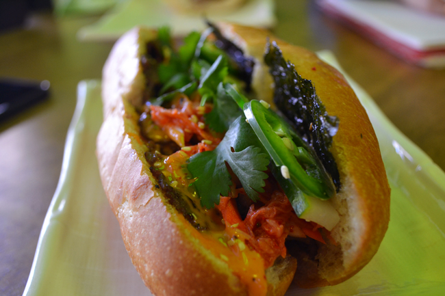 Seoul Savoury Banh Mi (Photo by Farhan Mohamed/Vancity Buzz)