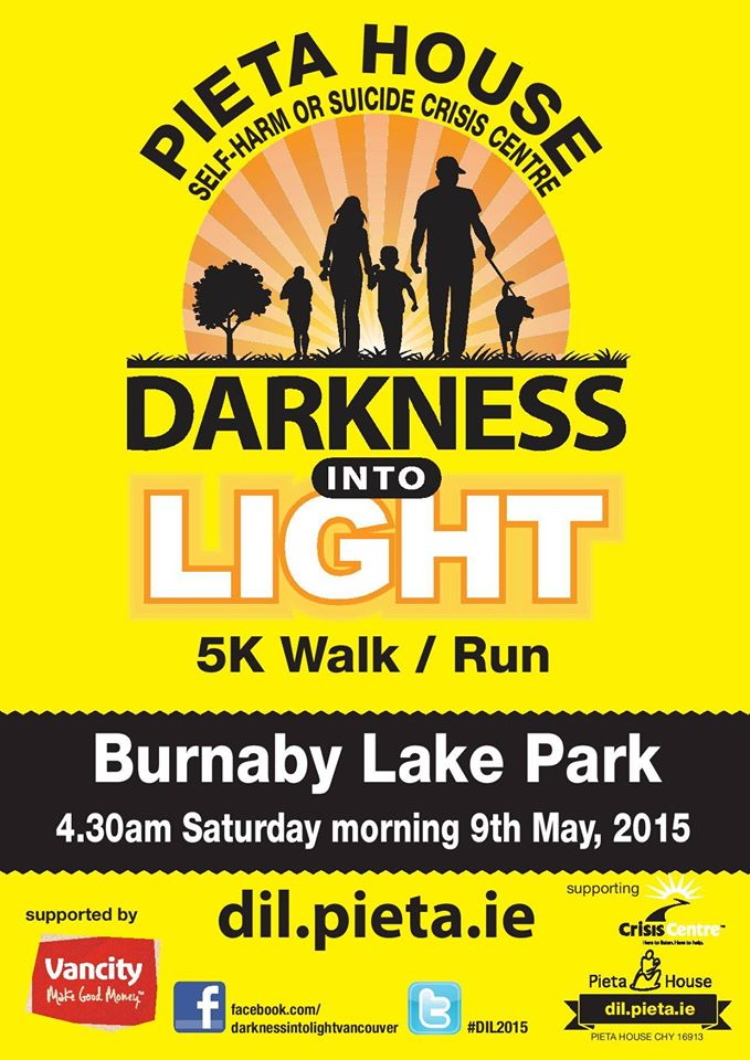 Darkness Into Light Vancouver