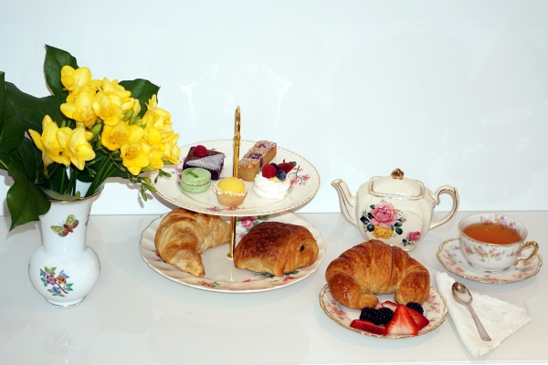 High tea from SocieTea. Photo credit: Faubourg