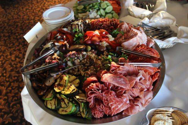Food and wine pairing at BC WAS Gala! (Image: Natalie Segovia)