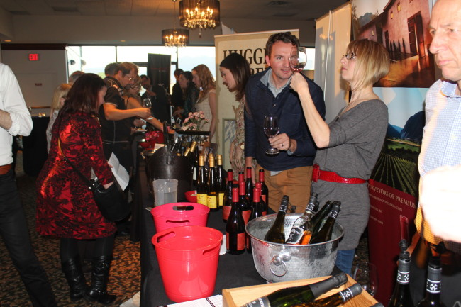 Rows and rows of wine at BC WAS Gala (Image: Natalie Segovia)
