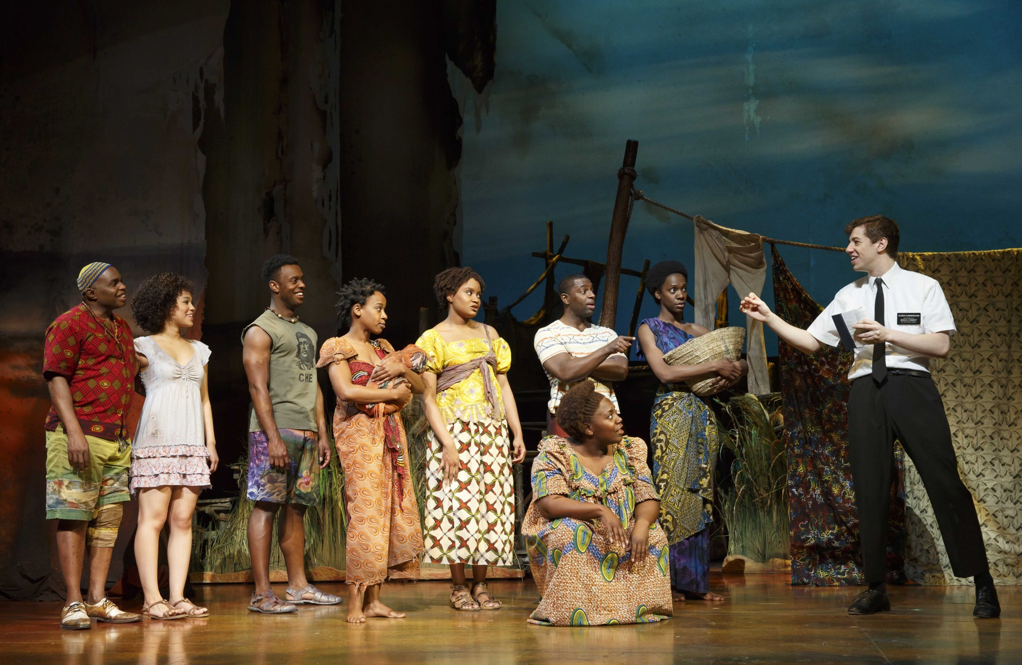 Photo Five. The Book of Mormon Company.  The Book of Mormon.  (c) Joan Marcus 2015