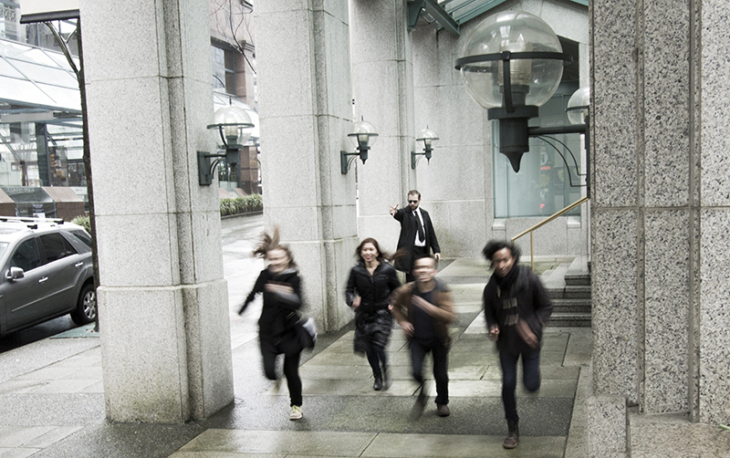 An elite spy unit races to complete their mission. Photo by Rachel Lenkowski.
