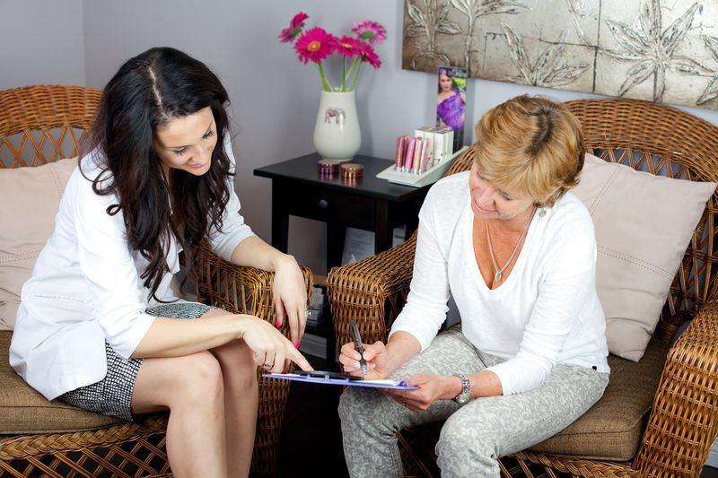 Consultation at Essence of L Medi Spa. Photo credit: Natalia Anja photography