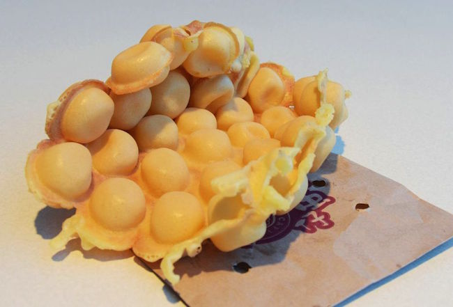 Best Bubble Waffle (Photo courtesy Chinese Restaurant Awards)