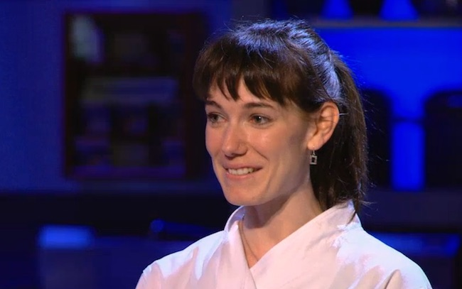 "Connie DeSousa wins a challenge on ""Top Chef Canada"" (Screenshot/Food Network Canada)"