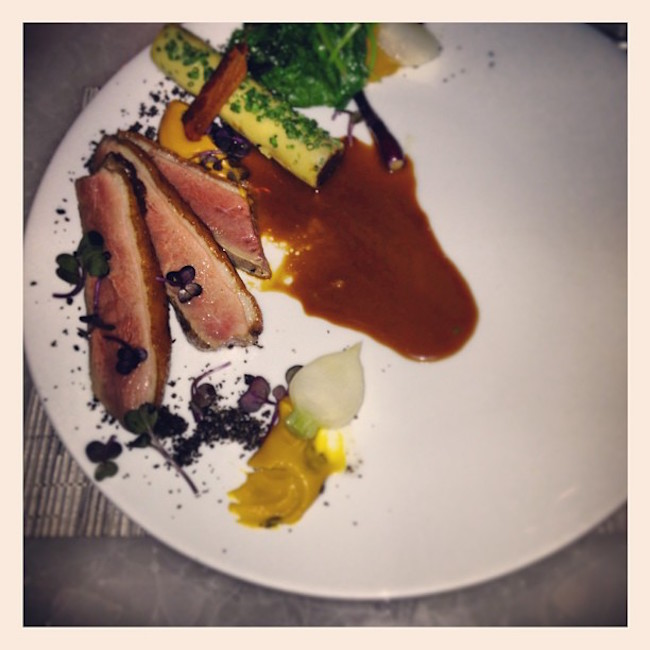 Duck breast at Hawksworth (Juan Pasalagua/Flickr)